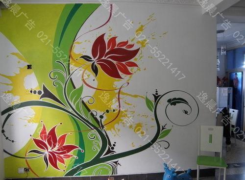 深圳墙体彩绘,楼宇墙体彩绘油漆,墙体画制作