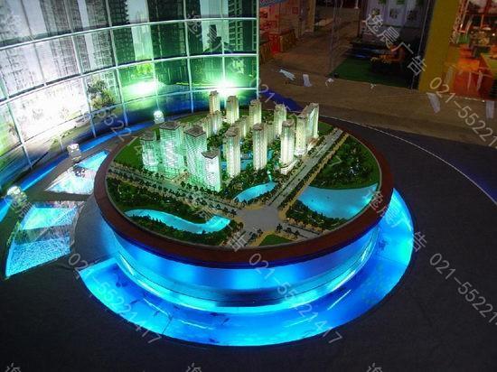沙盘模型万博登录页,上海房地产沙盘模型