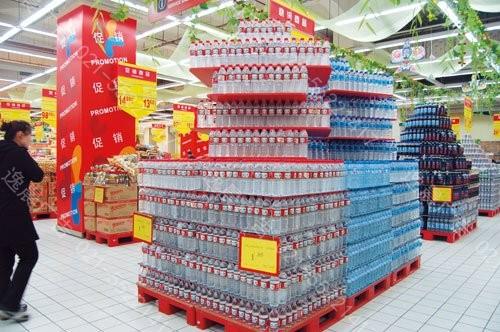 超市堆头写真,深圳堆头制作,形象地堆